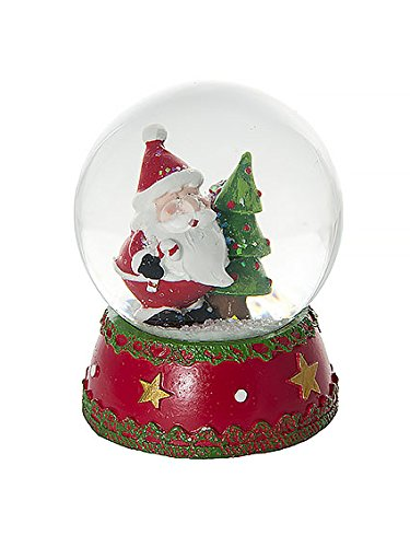 Mousehouse Gifts Father Christmas Snow Globe Christmas Decoration