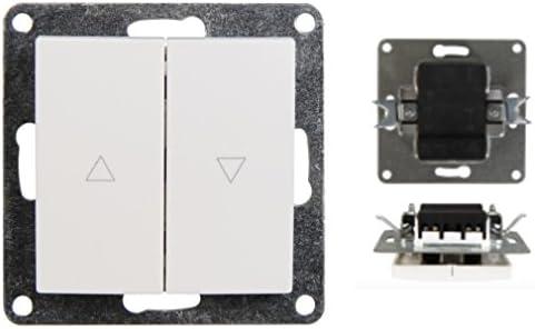 Variation rasante Interruptor de luz Interruptor pulsador interruptor de pared Interruptor de Cambio Serie Interruptor Interruptor