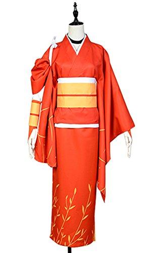 Costhat kimono Bungo Stray Dogs Izumi Kyouka Cosplay Costume XX-Large