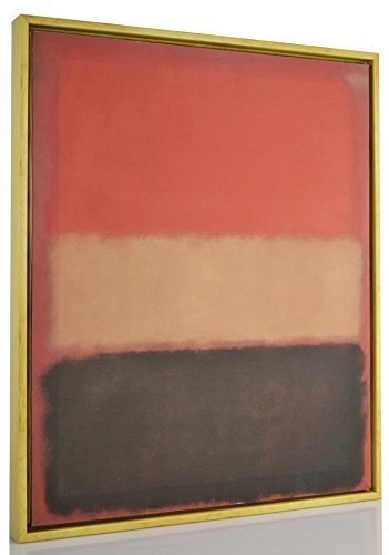Berkin Arts Framed Mark Rothko Giclee Canvas Print Paintings Poster Reproduction Fine Art Home Decor (Cover)