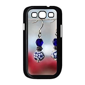 blue and white porcelain DIY Cover Case with Hard Shell Protection for Samsung Galaxy S3 I9300 Case lxa#493472 Kimberly Kurzendoerfer