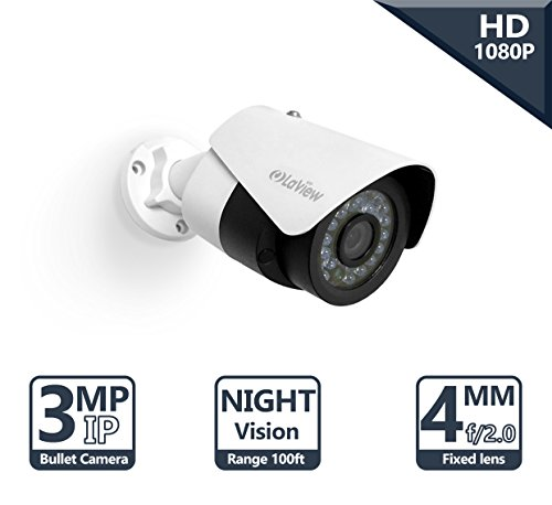 LaView Advanced IP 3MP High Resolution, Day and Night, Indoo
