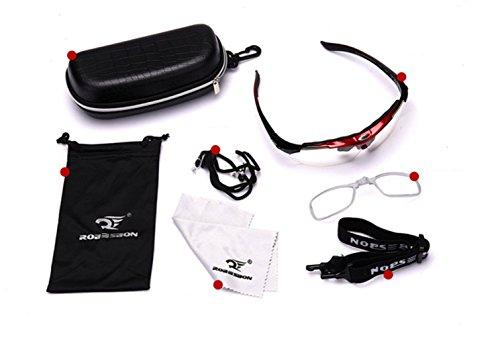 Libre de de Aire Opcionales Equipo contra Gafas PC para protección Excursionismo Blanco Material Deportivas Ciclismo explosiones al Y0vRpn