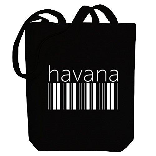 Capitals Idakoos Havana Havana Bag Idakoos barcode Tote Canvas barcode HdwXBd
