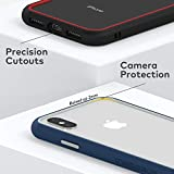 RhinoShield Ultra Protective Bumper Case Compatible with [iPhone X/XS] | CrashGuard NX - Military Grade Drop Protection Against Full Impact, Slim, Scratch Resistant - Graphite