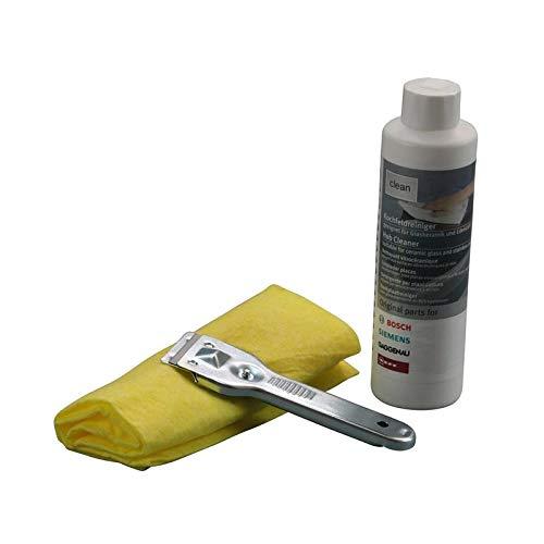 Kit de limpieza Kit de mantenimiento Placa de cocción Bosch ...