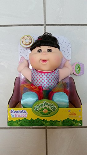 Cabbage Patch Kids Sweets 'n Treats ( Dark Hair ) Cookie (Clever Sweet)