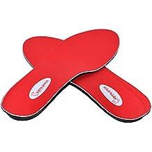 Samurai Insoles Instant-Relief Orthotics for Flat Feet - Plantar Fasciitis, Pain Relief Guaranteed!