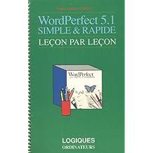 Wordperfect 5.1 dos simple et