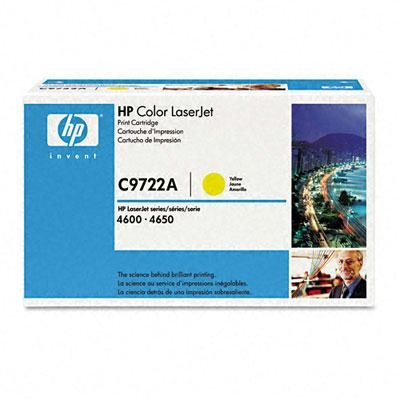 HEWC9722A - HP 641A (C9722A) Yellow Original LaserJet Toner Cartridge