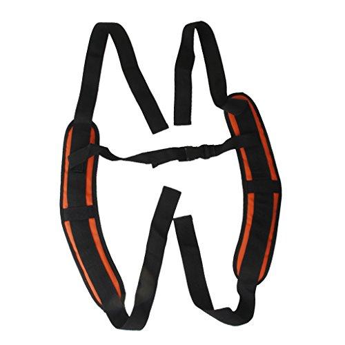 Float Tube Backpack Straps - MagiDeal 1 Pair DIY Waterproof PVC Shoulder Strap Replacement for Backpack