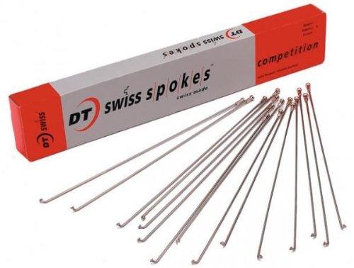 Concurrence DT Swiss Rayons Argenté 14 g/15/2 = 8 mm-Boîte de 500, 264 mm B00D6013G6