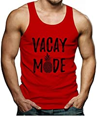 Tstars - Vacay Mode Summer Fashion Pineapple Vacation Men's Tank Top