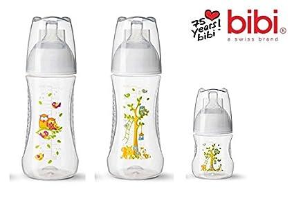 Bibi Swiss Happiness biberones con natural Aspiradora, todo ...