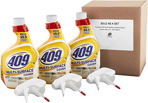 Formula 409 Multi-Surface Spray Cleaner, Lemon Scent, 22 Oun
