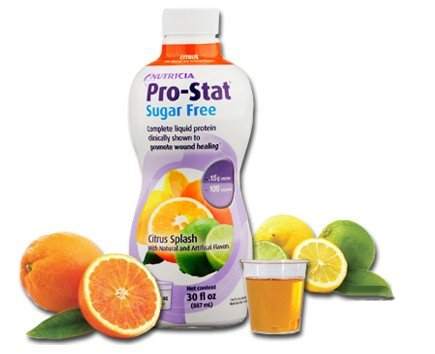 Pro-Stat Sugar Free, Citrus Splash, 30 fl oz (Case of 6 bottles) by Nutricia