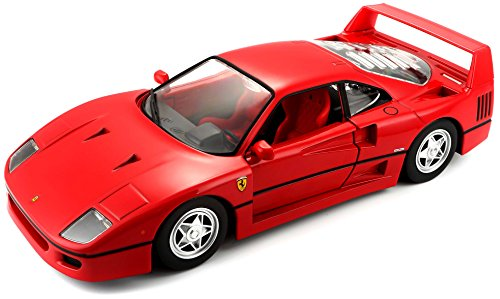 Bburago B18-26016 1:24 Scale Race and Play of The Ferrari F40 Sports Car Die-Cast Model (Bburago 1 24)