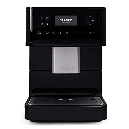 Miele CM6350 OneTouch Super-Automatic Countertop Coffee & Espresso Machine (Obsidian Black) (Renewed)