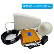 Asunflower® Dual band 900/1800MHz GSM/3G DCS LTE Cell Phone Mobile Signal Booster Repeater Amplifier Kit