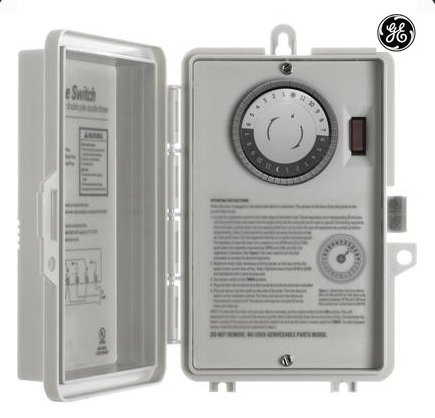 GE 15251 Indoor 24Hr Mechanical Time (Ge Electric Switch)
