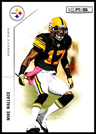8920a83a0ab 2011 Panini Rookies and Stars  117 Mike Wallace NM-MT Pittsburgh Steelers  Official NFL