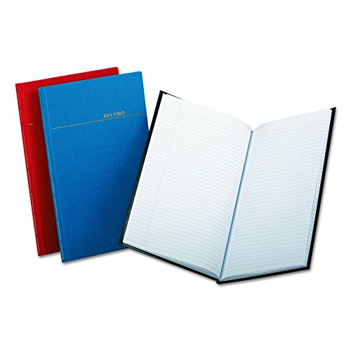 Boorum & Pease BOR96334  Record/account book, record rule, vinyl assorted covers, 12-1/8x7-1/2, 150 - Account Esselte Book