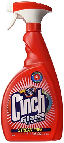 Spic and Span Cinch Glass Cleaner | 32 Fluid Ounces | 1-Unit