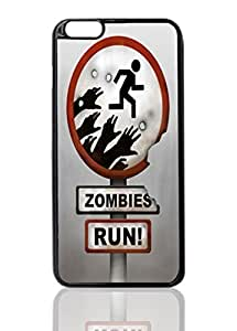 """Zombies Run Image Unique Diy New Hard Snap On Cover Protector Case For iPhone 6 Plus (5.5"""") inches"""