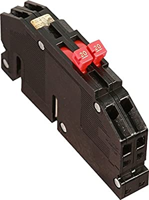 Refurbished Zinsco Sylvania R3820 Type R-38 Circuit Breaker 2 Pole 20 Amp 120V
