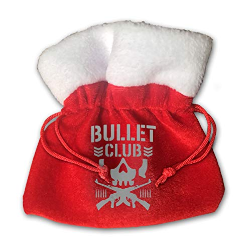 CYINO Personalized Santa Sack,Bullet Club Portable Christmas Drawstring