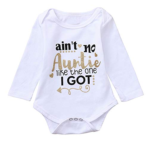 Twin Mommy Dolls Little (Keliay Infant Baby Girls Boys Long Sleeve Letter Print Clothes Jumpsuit Romper Outfit)
