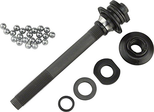 Shimano SLX M665, Deore M595, HB-M590 Complete Front Axle Unit by SHIMANO (Image #1)