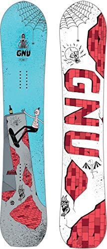 Gnu Money Blem Snowboard Mens Sz 156cm