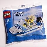 LEGO City Mini Figure Set #30017 Police Boat Bagged