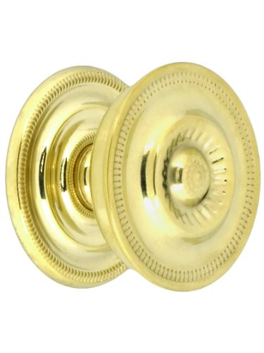 Large Federal Style Knob & Backplate - 1 5/8