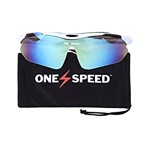 Polarized Sunglasses for Men & Women - Sport Sunglasses - Best Cycling Sunglasses | Running Sunglasses | Golf Sunglasses - Up Your Game with OneSpeed Sports Sunglasses
