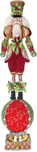 Mark Roberts Stocking Holders 51-68768 Festive Soldier-Nutcracker 31 inch.