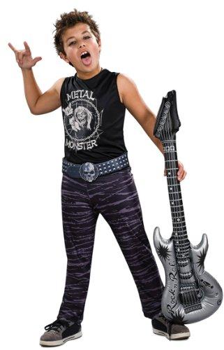 Rubies Costume Co Boys' Rock Hero Costume Multicoloured (Boys Rock Hero Costumes)