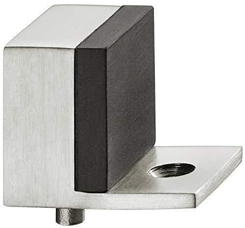 Häfele Türstopper Edelstahl Türpuffer Boden Gummipuffer 43 mm Bodentürpuffer