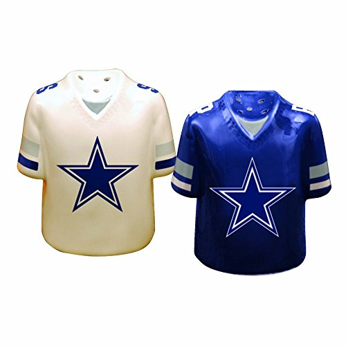 The Memory Company Dallas Cowboys Gameday Salt and Pepper Shaker - Dallas Cowboys Salt