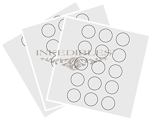 YummyInks TM Brand: Frosting Sheets 24 sheets - 2in circles