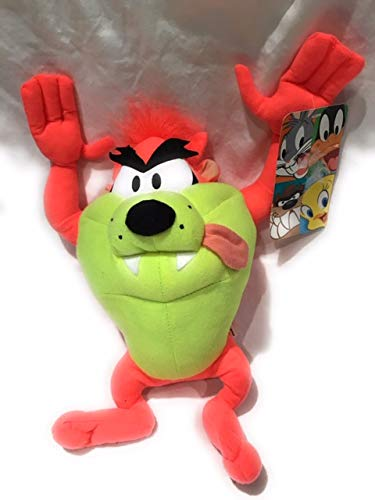 Toy Factory Looney Tunes Neon Tazmanian Devil Plush Doll 12