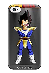Hot NydQDnO1565qIiHs Dbz Vegeta Tpu Case Cover Compatible With Iphone 4/4s