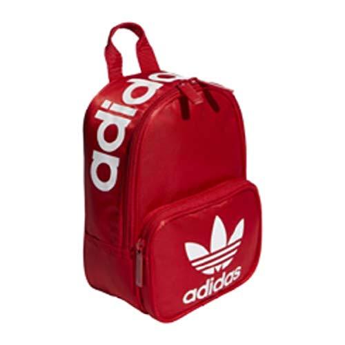adidas Originals Women's Originals Santiago Mini Backpack, Scarlet, One Size (Scarlet Backpack)