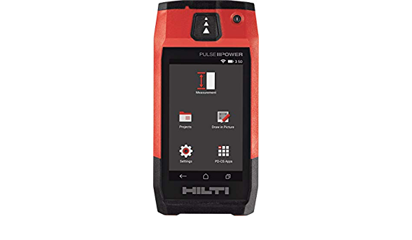 Hilti 2062051 PD-E Laser Range Meter with Soft Case 1 mW, 635 nm, Class 2, Class II