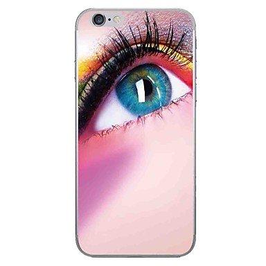 Fundas y estuches para teléfonos móviles, Caso para el iphone de la manzana 7 7 más el caso del patrón del ojo de la cubierta del caso pintó la caja más suave del teléfono de la ( Modelos Compatibles  IPhone 6s Plus/6 Plus