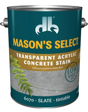 Mason'S Select Transparent Concrete Stain Slate 1 Gl
