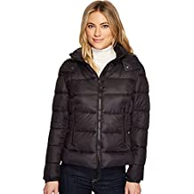 Save The Duck Womens Short Coat With Removable Hood