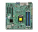 Supermicro Dual LGA 1150/Core i3/Pentium/Celeron DDR3 SATA3/uATX Motherboard