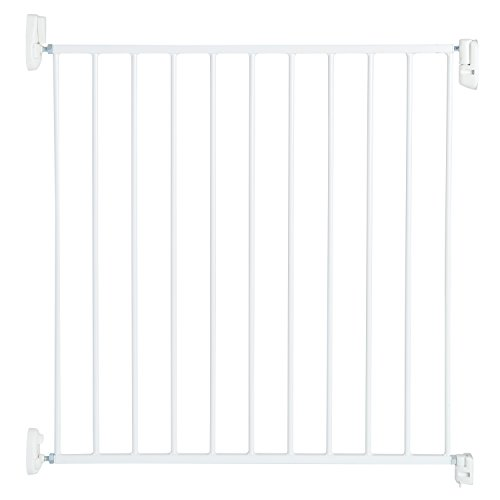 Munchkin Sure Shut Push to Close Metal Baby Gate, White (Munchkin With Baby Door Gate)